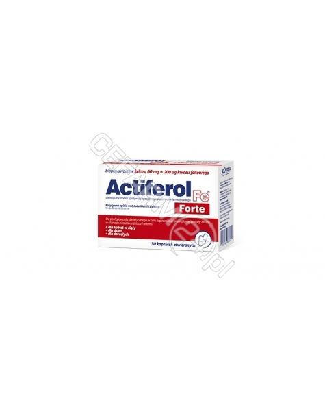 SEQUOIA Actiferol Fe Forte x 30 kapsułek otwieranych