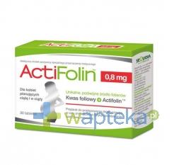 SEQUOIA SP. Z O.O. ActiFolin 0,8 mg 30 tabletek