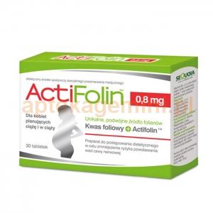 SEQUOIA ActiFolin 0,8mg, 30 tabletek