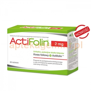 SEQUOIA ActiFolin 2mg, 30 tabletek