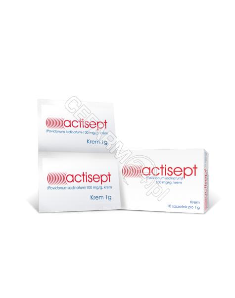 HASCO-LEK Actisept 100 mg/g 1 g x 10 sasz