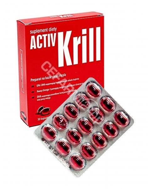 ICN POLFA RZ Activ krill x 30 kaps (ICN)