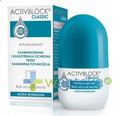 TEVA KUTNO S.A. Activblock Classic roll on 25 ml