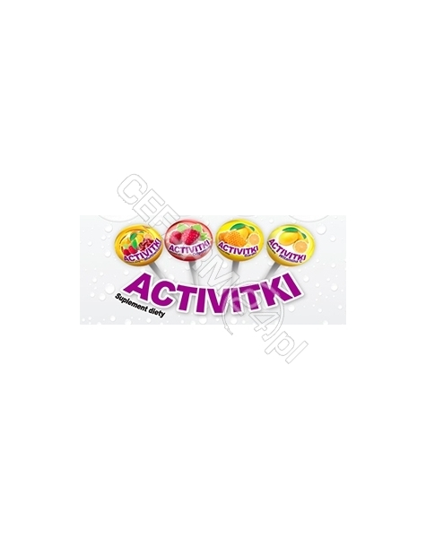 MEDICA SP.J Activitki vitamina c x 50 lizaków