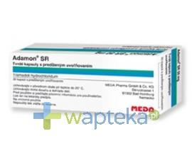 MEDA PHARMA GMBH & CO.KG Adamon SR 200 kapsulki o przedluzonym uwalnianiu 200mg 50szt