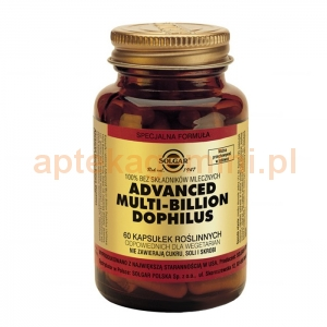SOLGAR Advanced Multi-Billion Dophilus, Solgar, 60 kapsułek