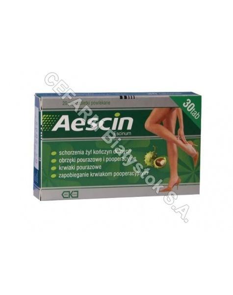 TEVA KUTNO Aescin 20 mg x 30 tabl powl