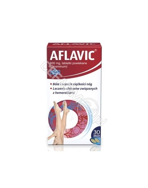 POLFARMEX Aflavic 600 mg x 30 tabl powlekanych