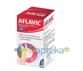 POLFARMEX S.A. Aflavic 600mg 30 tabletek (pojemnik)