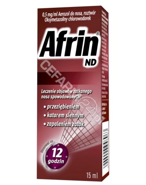 SCHERING-PLO Afrin ND aerozol do nosa 15 ml