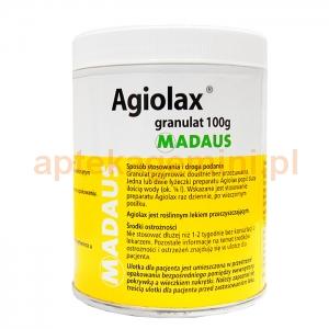 MADAUS Agiolax, granulki, 100g