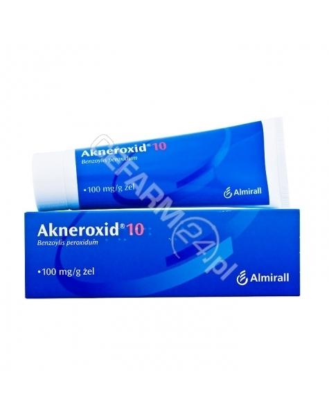 ALMIRALL HERMAL GMBH Akneroxid 10% żel 50 g