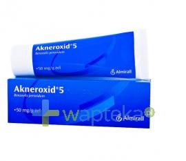 BOOTS HEALTHCARE SP.Z O.O. Akneroxid 5 żel 50g