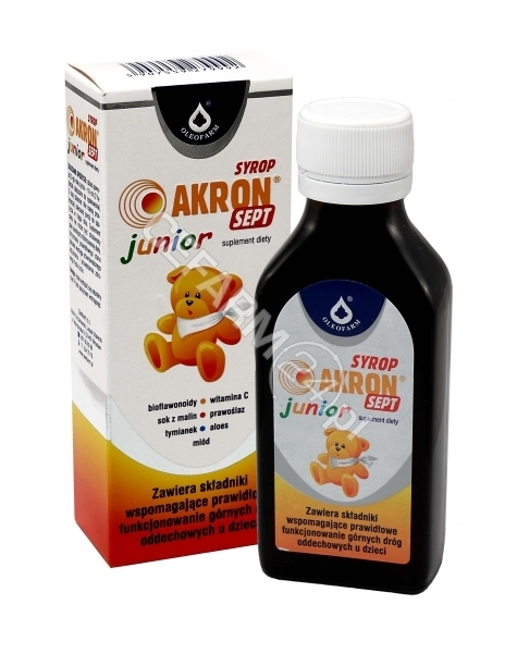 OLEOFARM Akron sept junior syrop 100 ml