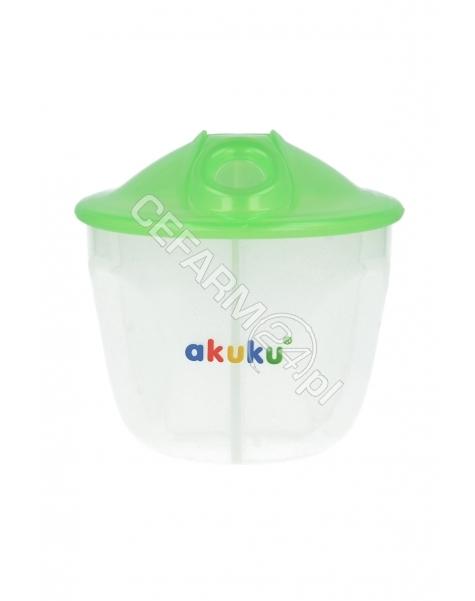 AL-BiS Akuku pojemnik na mleko w proszku trzykomorowy z dozownikiem (A0226)
