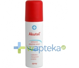 AVEFLOR A.S. Akutol Spray opatrunke elastyczny aerozol 60 ml