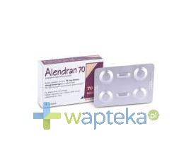 RANBAXY (POLAND) SP. Z O.O. Alendran 70 mg tabletki 4 sztuki