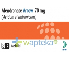 ARROW POLAND S.A. Alendronate Arrow 70 mg tabletki 4 sztuki
