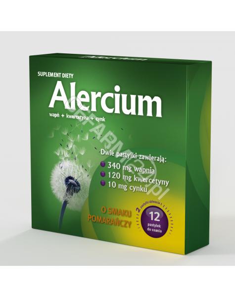 MSFARMA Alercium x 12 pastylek do ssania