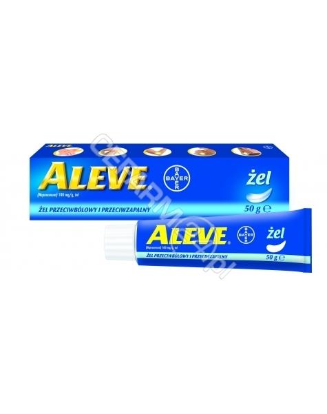 BAYER Aleve 100 mg/g żel 50 g