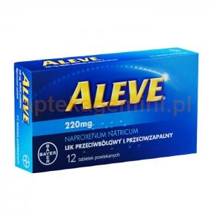 BAYER Aleve, 12 tabletek