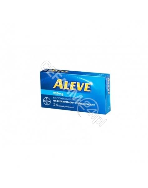BAYER Aleve 220 mg x 24 tabl powlekane