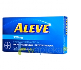 BAYER Aleve, 24 tabletki