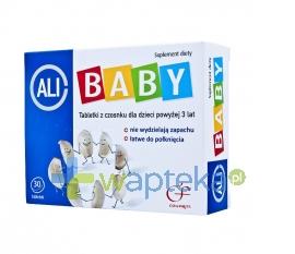ZAKŁADY FARM. COLFARM Ali-baby czosnek dla dzieci 30 tabletek