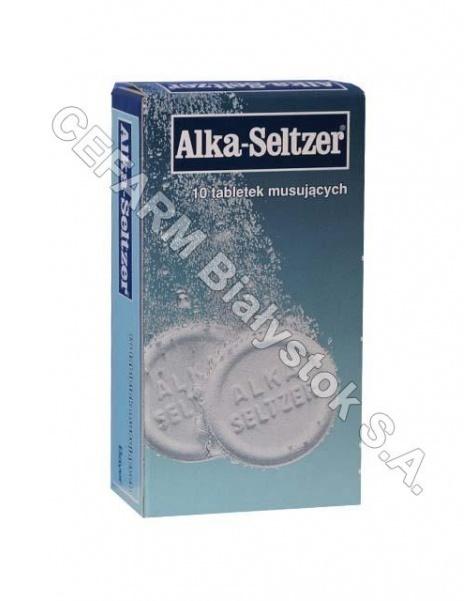 BAYER Alka-seltzer x 10 tabl musujących
