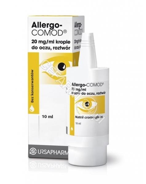URSAPHARM Allergo-comod krople do oczu 20 mg/ml 10 ml