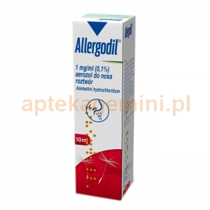 MEDA Allergodil 0.1%, aerozol do nosa, 10ml