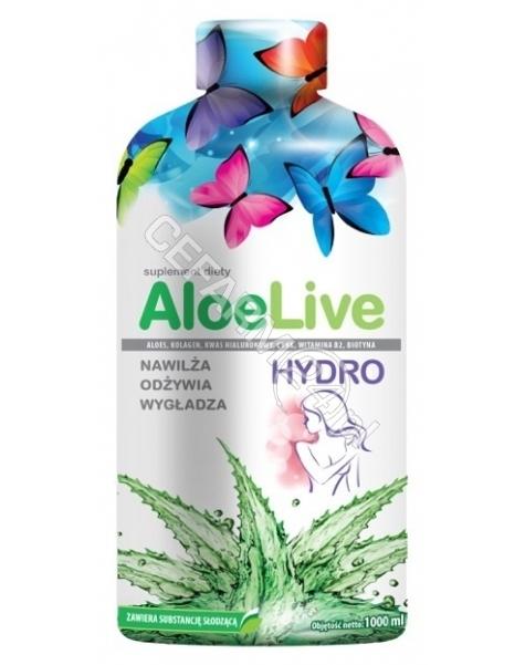 LABORATORIA NATURY SP Z O.O. Aloelive hydro 1000 ml
