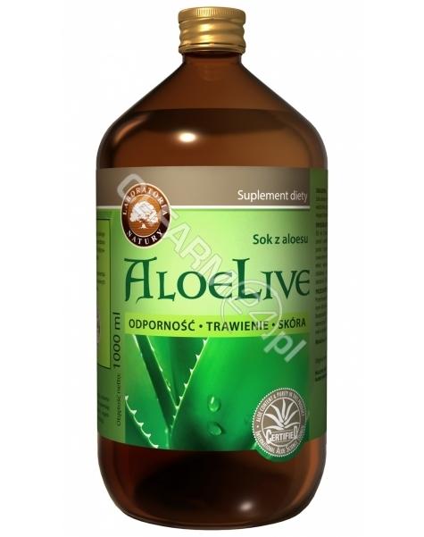 LABORATORIA NATURY SP Z O.O. AloeLive - sok z aloesu 1000 ml