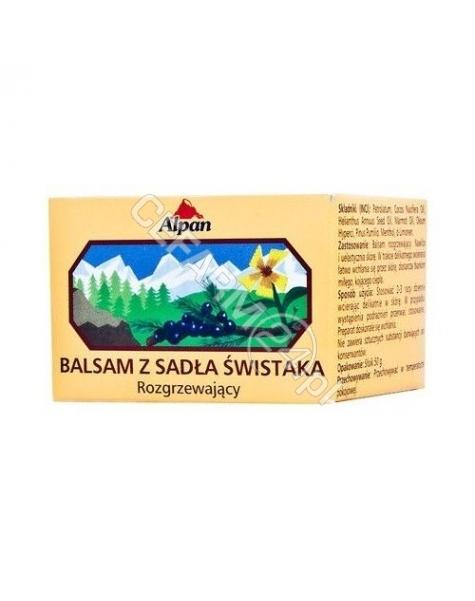 ALPINE HERBS PRODUKTE AB Alpine rozgrzewający balsam z sadła świstaka 50 g