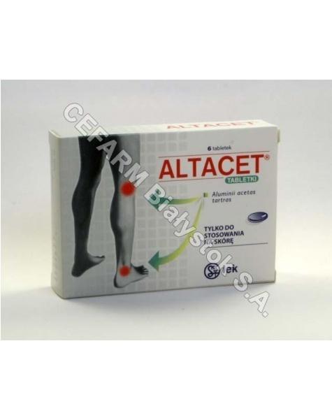 EMO-FARM Altacet 1 g x 6 tabl