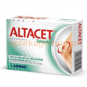 SANDOZ Altacet, 6 tabletek BEZ KARTONOWEGO OPAKOWANIA OKAZJA