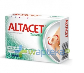 LEK S.A. Altacet 6 tabletek - Krótka data ważności - do 31-01-2016