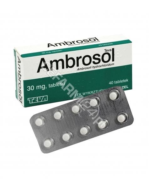 TEVA Ambrosol Teva 30 mg x 40 tabl