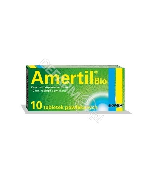 BIOFARM Amertil bio 10 mg x 10 tabl powlekanych