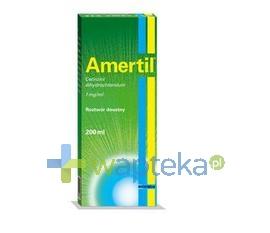 BIOFARM SP.Z O.O. Amertil roztwór doustny (1 mg / ml) 200 ml