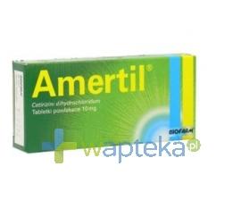 BIOFARM SP.Z O.O. Amertil tabletki powlekane 10 mg 20 sztuk