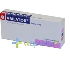 GEDEON RICHTER POLSKA SP.Z O.O. Amlator 10 mg+10 mg tabletki powlekane 30 szt