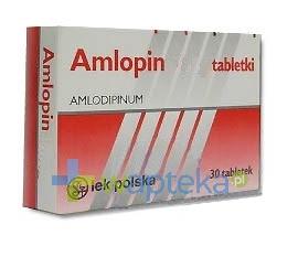 SANDOZ GMBH Amlopin 5 mg tabletki 30 sztuk