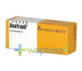 TEVA PHARMACEUTICALS POLSKA SP. Z O. O. Anafranil tabletki powlekane 25 mg 30 sztuk