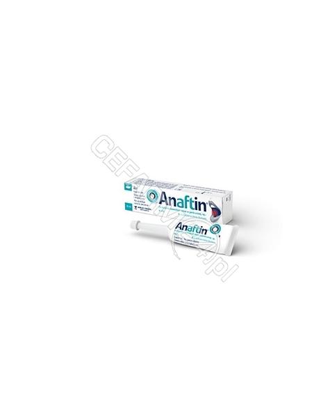 BERLIN-CHEMI Anaftin żel na afty 8 ml