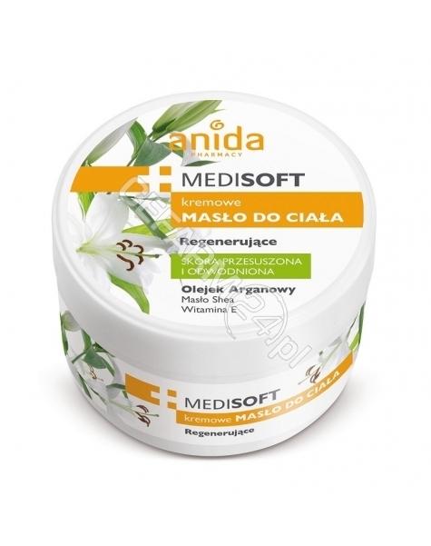 SCAN-ANIDA Anida medisoft kremowe masło do ciała regenerujące 300 ml