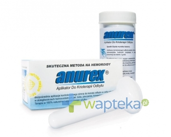 J.POHLER Anurex aplikator przeciw hemoroidom 1 sztuka