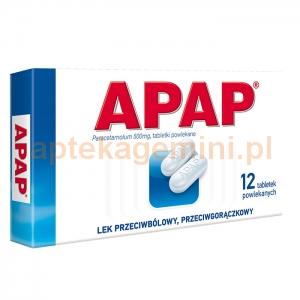 USP ZDROWIE Apap, 12 tabletek