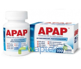 US PHARMACIA SP. Z O.O. Apap 500 mg 100 tabletek