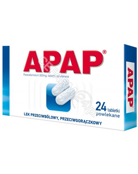 US PHARMACIA Apap 500 mg x 24 tabl powlekanych